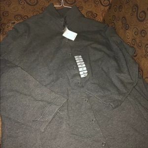 Charter Club, 1x, Gray, New, Womans, button up